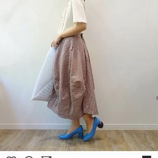 エンフォルド(ENFOLD)のエンフォルド コレクションラインスカート(ロングスカート)