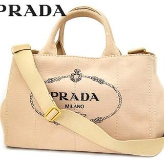 2b6e2fb5f02e プラダ(PRADA)の新品・PRADA カナパ 2wayトートショルダーバッグ 1BG642 ベージュ(