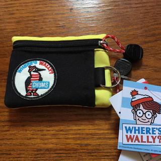 チャムス(CHUMS)の別注 タグ付‼️CHUMS × WHERE'S WALLY?コラボ コインケース(折り財布)