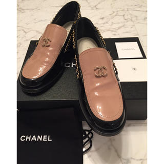 シャネル(CHANEL)のシャネル♥️フラットシューズ38サイズ♥️(ローファー/革靴)