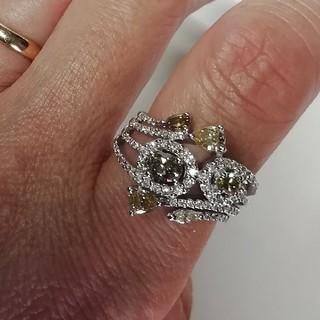 ダイヤモンドリング k18   1.27ct(リング(指輪))