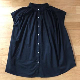 ジーユー(GU)のGU ボリュームギャザーブラウス(半袖)(シャツ/ブラウス(半袖/袖なし))
