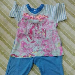 バンダイ(BANDAI)の昔のプリキュアパジャマ&3かんしおん90センチTシャツ(パジャマ)