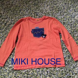 ダブルビー(DOUBLE.B)のミキハウス ロングTシャツ 130センチ(その他)