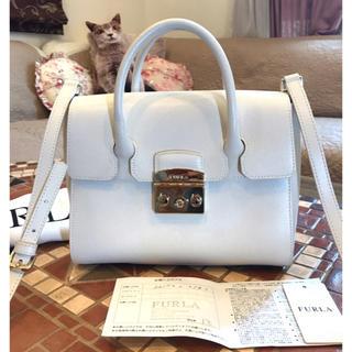 059344023a9b フルラ(Furla)の美品本物⭐︎FURLA フルラメトロポリス2Wayショルダーハンドバッグ