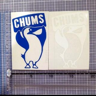 チャムス(CHUMS)のチャムス ステッカー 白 1枚(ステッカー)