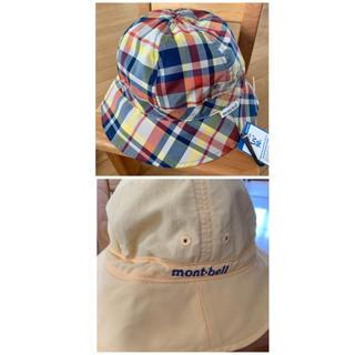 モンベル(mont bell)の☆mont-bell☆キッズ☆ライト リバーシブルハット(帽子)