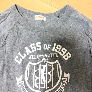 ビームスボーイ(BEAMS BOY)のbeams boy 7分袖 Tシャツ グレー ビームス(Tシャツ(長袖/七分))