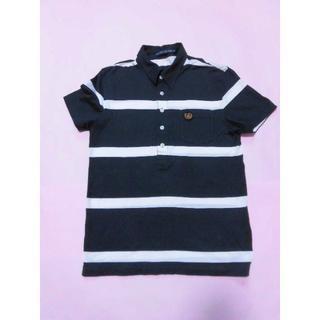 ラルフローレン(Ralph Lauren)の【ラルフローレン】ポロシャツ☆黒×白☆ボーダー(ポロシャツ)