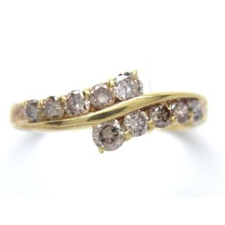 K18 ダイヤモンド 0.50ct リング*(リング(指輪))