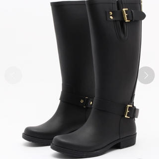 ドゥーズィエムクラス(DEUXIEME CLASSE)のCOLORS OF CALIFORNIA  レインブーツ 長靴 37(レインブーツ/長靴)