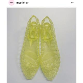 ミスティック(mystic)の未使用 ミスティック クリアパンプス(ハイヒール/パンプス)