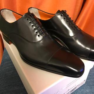 Santoni - サントーニ 革靴 ストレート ブラック 7.5(26程度) 新品