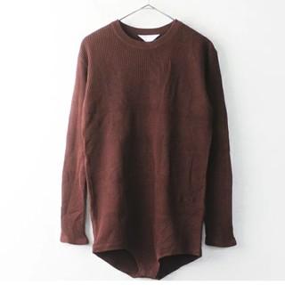 アンユーズド(UNUSED)の新品 アンユーズド カットソー 0(Tシャツ/カットソー(七分/長袖))