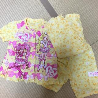 バンダイ(BANDAI)のスィートプリキュア パジャマ 110㌢ 3点(パジャマ)