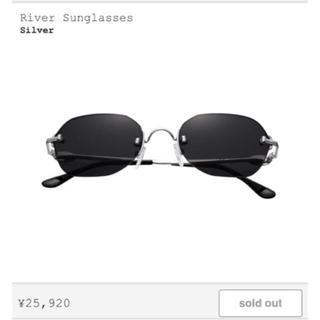 シュプリーム(Supreme)のsupreme river sunglasses 2019 SS(サングラス/メガネ)