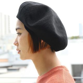 フリークスストア(FREAK'S STORE)の麻混サーモベレー帽(ハンチング/ベレー帽)