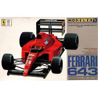 フェラーリ(Ferrari)のフェラーリ643 1/24プラモデル(模型/プラモデル)