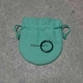 ティファニー(Tiffany & Co.)のティファニーリング 1837 ブラックチタン(リング(指輪))