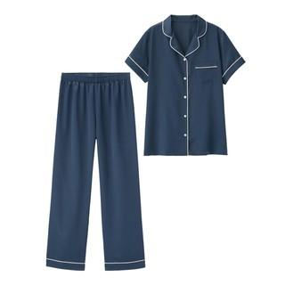 ジーユー(GU)の【新品】パジャマ(半袖&ロングパンツ)(パジャマ)
