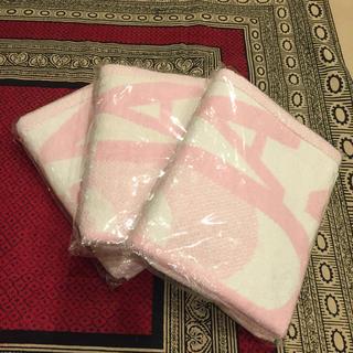 マリークワント(MARY QUANT)の新品未使用☆マリークワント バスタオル3枚セット(タオル/バス用品)