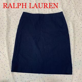 ラルフローレン(Ralph Lauren)の美品 ラルフローレン ストレッチ タイトスカート(ひざ丈スカート)