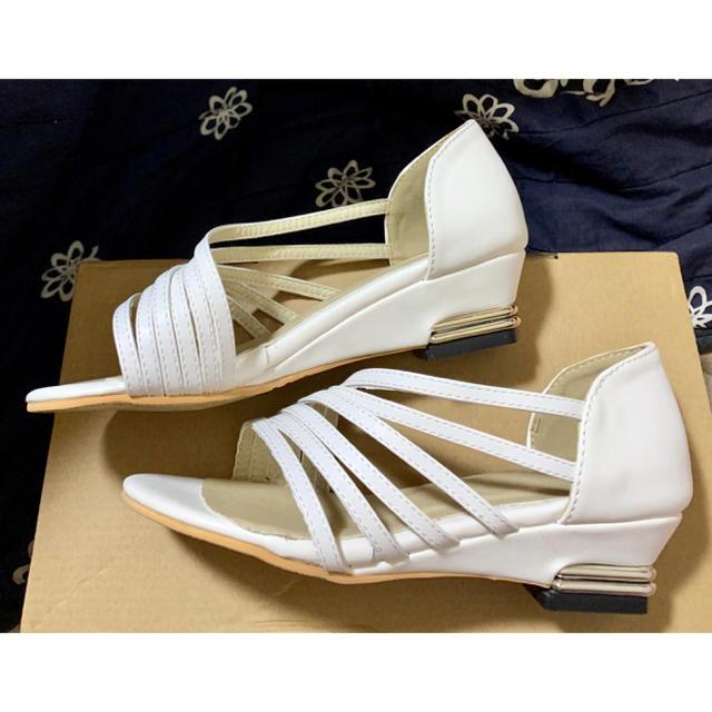 ★ネコニャン7748様専用★小さいサイズレディース、ガールズ・サンダル、パンプス レディースの靴/シューズ(サンダル)の商品写真
