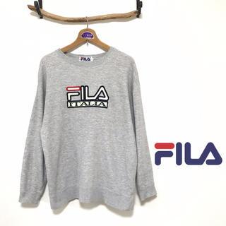 フィラ(FILA)のフィラ シンプル ロゴ スウェット(スウェット)