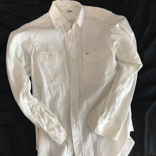 ドアーズ(DOORS / URBAN RESEARCH)のアーバンリサーチ購入 リー白色長袖シャツ(シャツ)