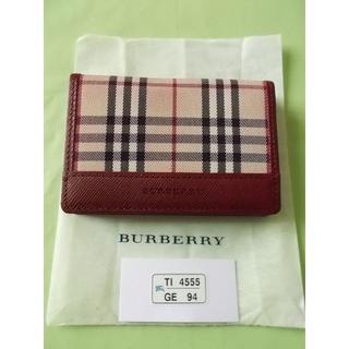 バーバリー(BURBERRY)のBurberryパスケース名刺入れ(名刺入れ/定期入れ)