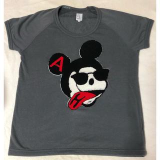 ハーフマン(HALFMAN)のHALFMAN スウェット バッドミッキー S (Tシャツ/カットソー(半袖/袖なし))