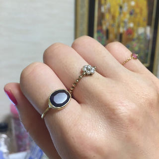 k14 アイオライトのリング マリーエレーヌがお好きな方へ(リング(指輪))