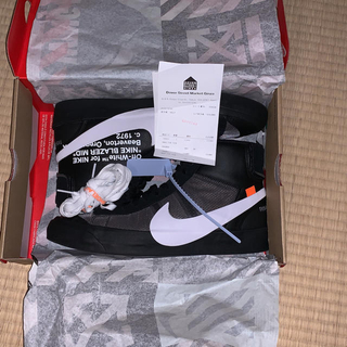 ナイキ(NIKE)のOff-White Nike Blazer Mid The Ten (スニーカー)