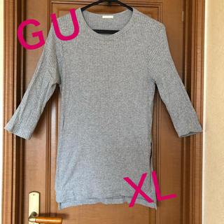 ジーユー(GU)の☆GU❣️七分袖 ロングTシャツ (Tシャツ(長袖/七分))