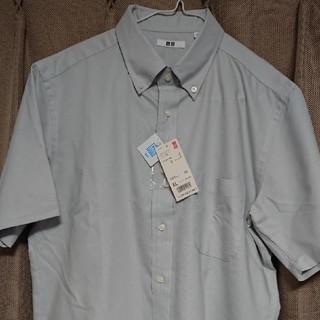 ユニクロ(UNIQLO)のユニクロ メンズ ドライイージーケア オックスフォードシャツ(半袖)(シャツ)