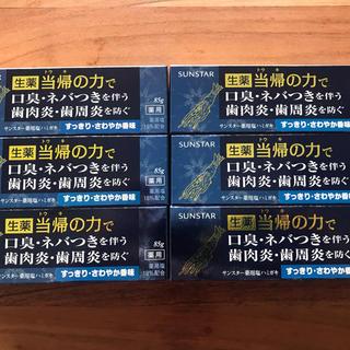 サンスター(SUNSTAR)のSUNSTAR薬用塩ハミガキセット(歯磨き粉)