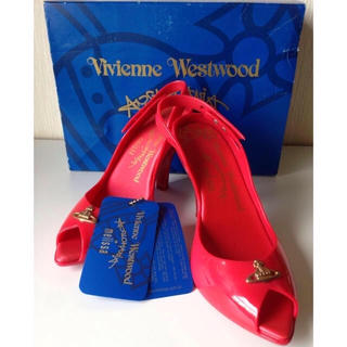 ヴィヴィアンウエストウッド(Vivienne Westwood)のVivienne Westwood × メリッサ サンダル(ハイヒール/パンプス)