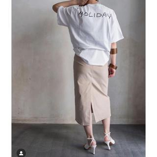 エンフォルド(ENFOLD)の【美品】vonique  charritaタイトスカート(ロングスカート)