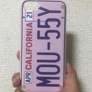 マウジー(moussy)のiPhoneケース/moussy(iPhoneケース)