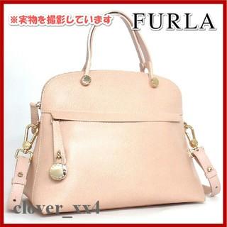 ab019a56392a フルラ(Furla)のフルラ ショルダーバッグ パイパー M 美品 ピンク FURLA バッグ(