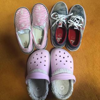 ラルフローレン(Ralph Lauren)の20〜22cm ラルフ、DC、クロックス  子供靴、サンダル3足セット(スニーカー)