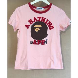 アベイシングエイプ(A BATHING APE)の【A BATHING APE】Tシャツ(Tシャツ(半袖/袖なし))