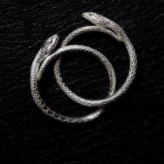 ELCAMI 蛇二連リング(リング(指輪))