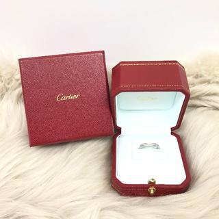 カルティエ(Cartier)のカルティエ バレリーナ ダイヤリング PT950 (リング(指輪))