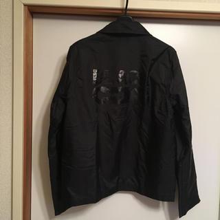 コムデギャルソン(COMME des GARCONS)のロゴ入り ブラック コムデギャルソン ブルゾン(ブルゾン)