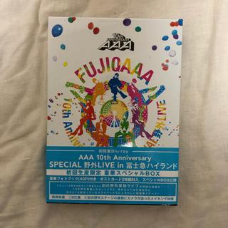 トリプルエー(AAA)のAAA Blu-ray 初回盤(ミュージック)