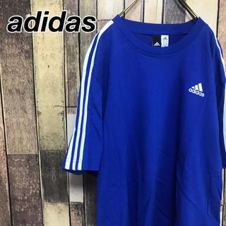 アディダス(adidas)のアディダス Tシャツ パフォーマンス シャツワンピ ワンポイントスリーストライプ(Tシャツ/カットソー(半袖/袖なし))