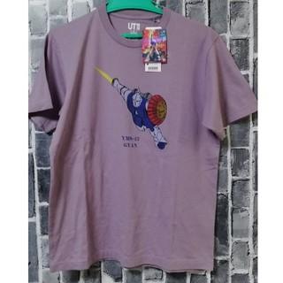 ユニクロ(UNIQLO)の新品タグ付★ユニクロ ガンダム★40周年 Tシャツ★ギャンマ・クベ!サイズM(キャラクターグッズ)