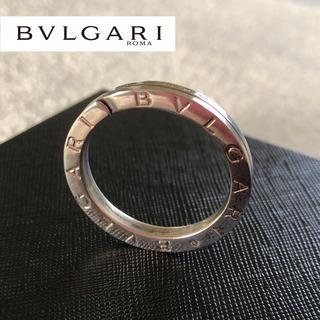 ブルガリ(BVLGARI)のブルガリ ブルガリブルガリ キーリング 925 革紐付き(ネックレス)