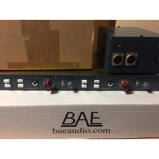 BAE 1073MP Dual Channel Mic/Line Preamp(パワーアンプ)